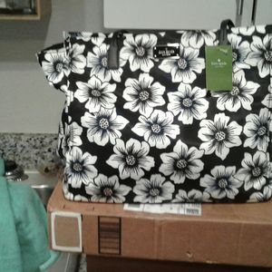 NWT KATE SPADE FLORAL....LARGE